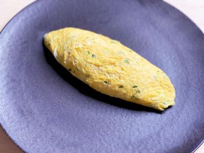 ハーブとチーズのオムレツ