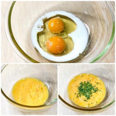 オムレツの液卵