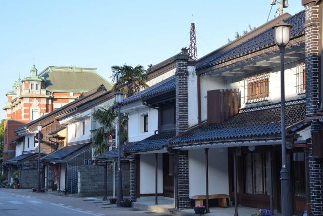 富山県高岡市の風景
